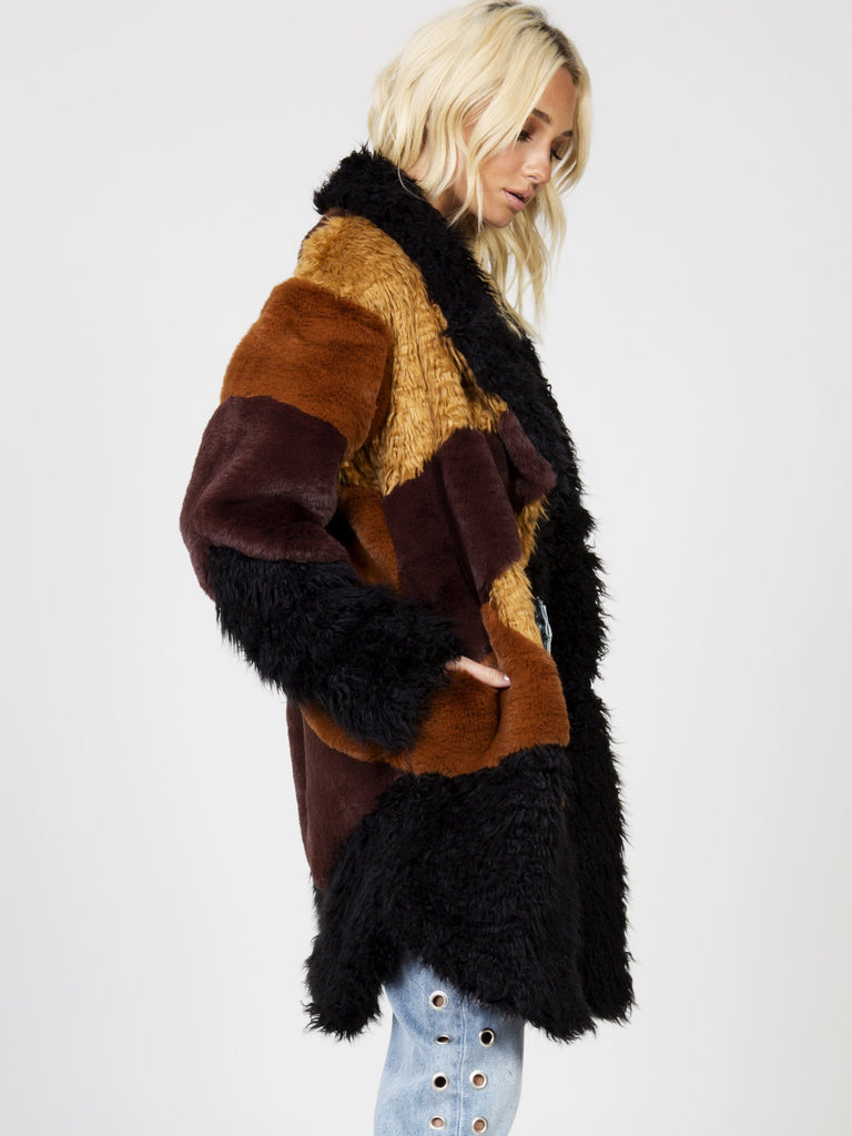 Heavy Hearts Fur Jacket by Somedays Lovin