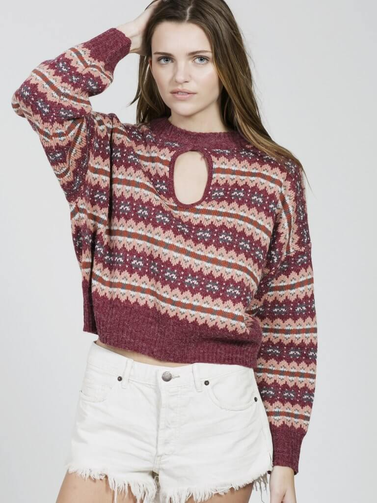 MAPLE KNIT SWEATER