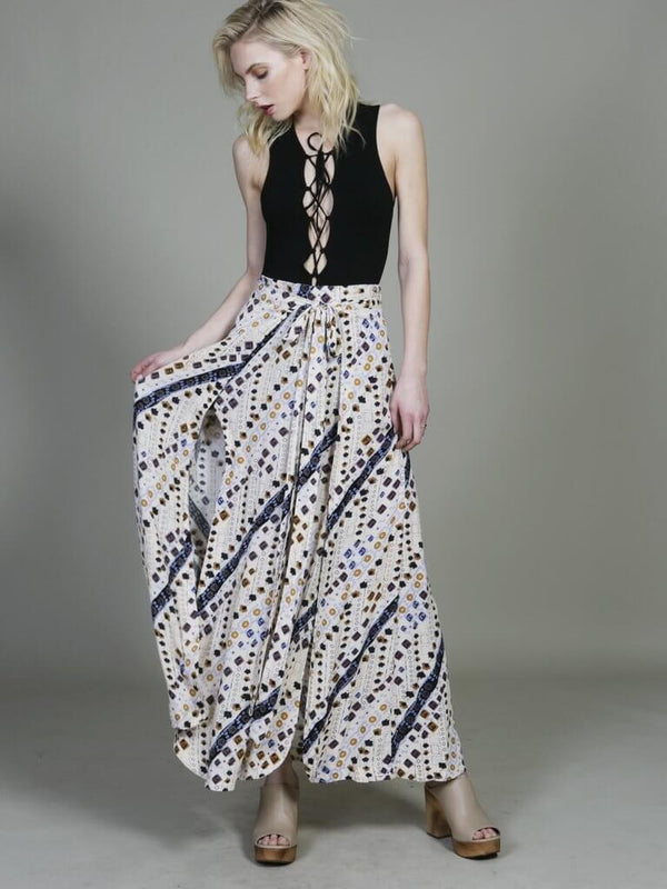 REMEMBER ME MAXI SKIRT