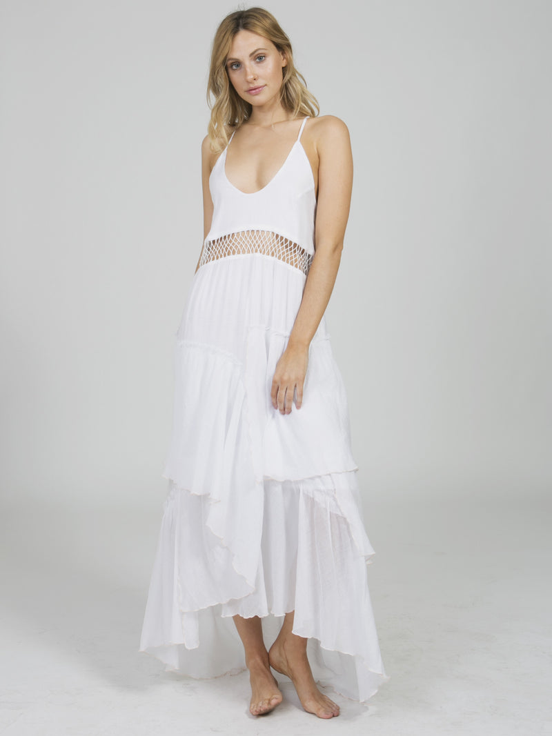 Closer Frill Maxi Dress Suboo