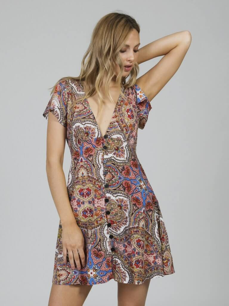 Jonis Mini Dress Cleobella