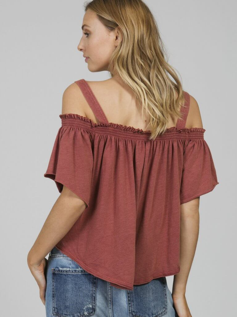 Darling Top Red