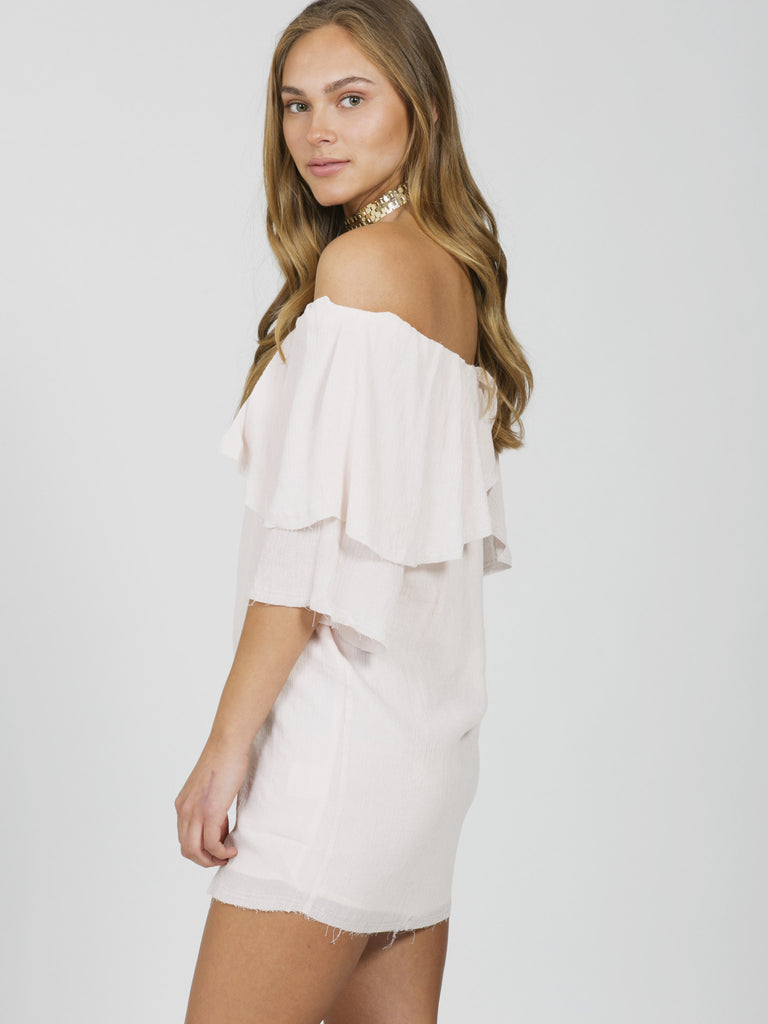 Perfect Day Off Shoulder Dress
