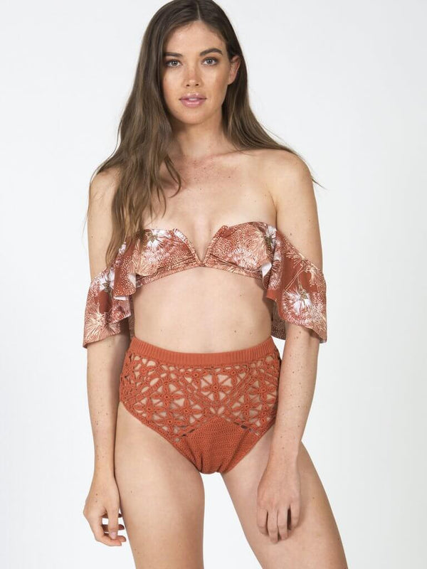 Tigress Crochet High Waisted Bottoms