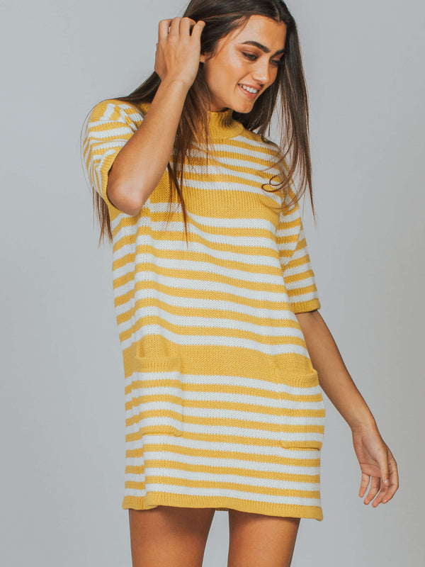 Catalina Knit Tee Dress Rue Stiic