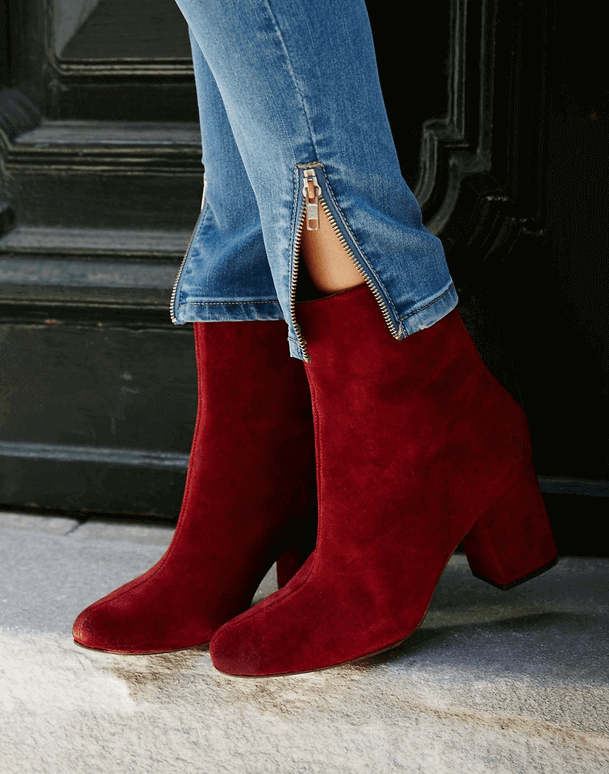 CECILE ANKLE BOOT TERRACOTTA