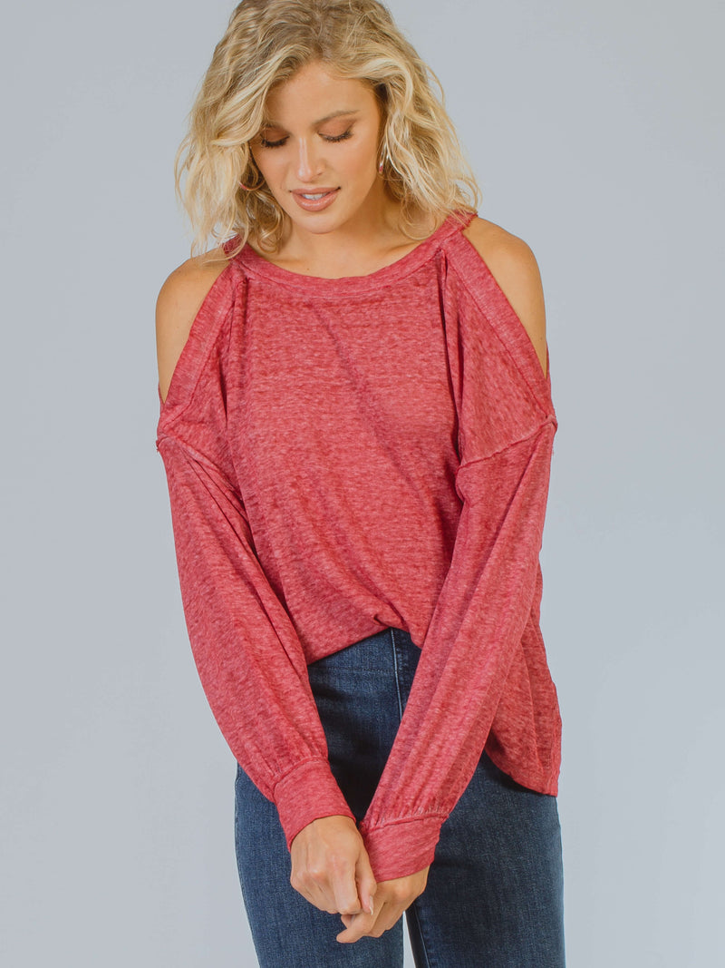 Chill Out Long Sleeve Top Free People