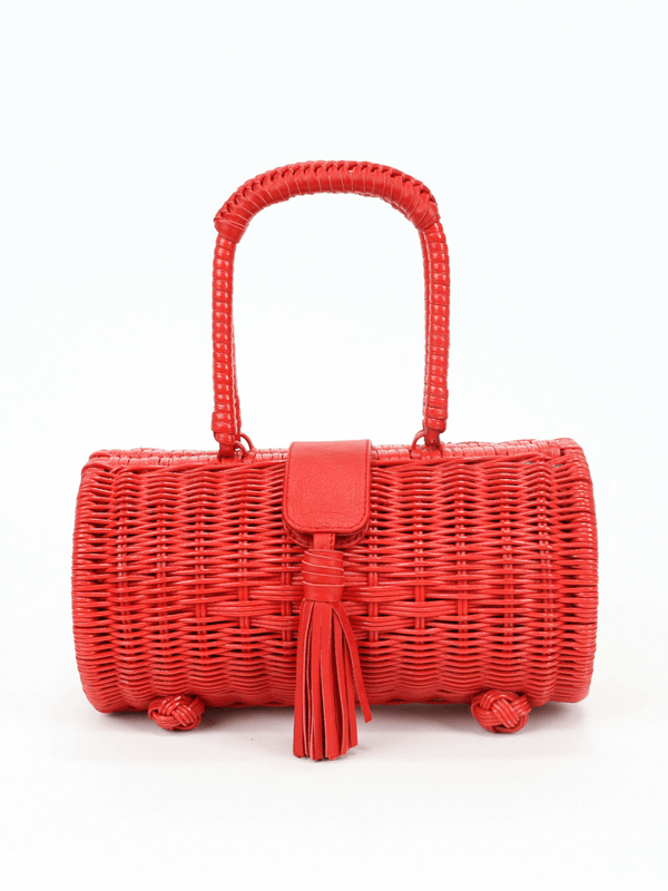 Clarissa Wicker Bag Cleobella