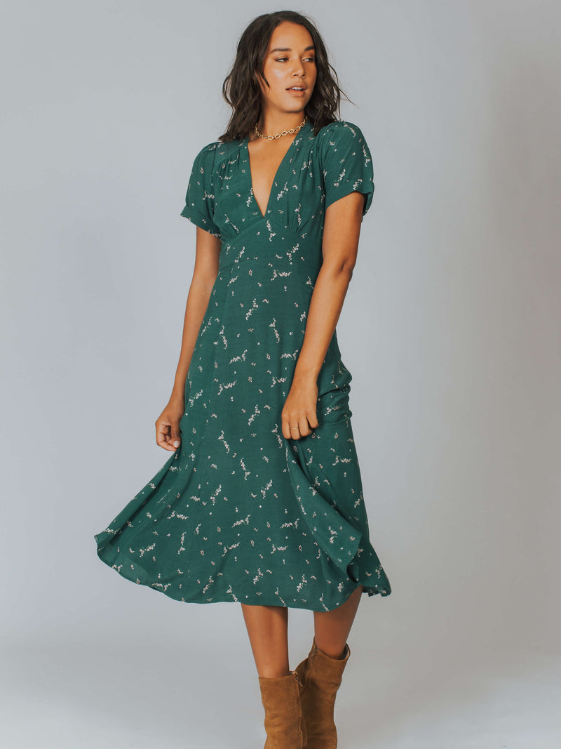 Clementine Bonne Midi Dress Auguste The Label