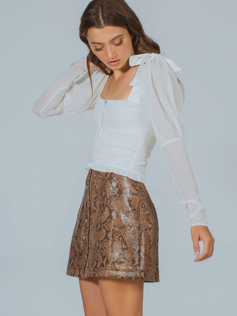 Come Slither Skirt Astr The Label