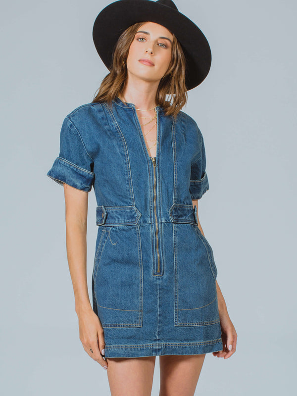 Dream On Denim Mini Free People