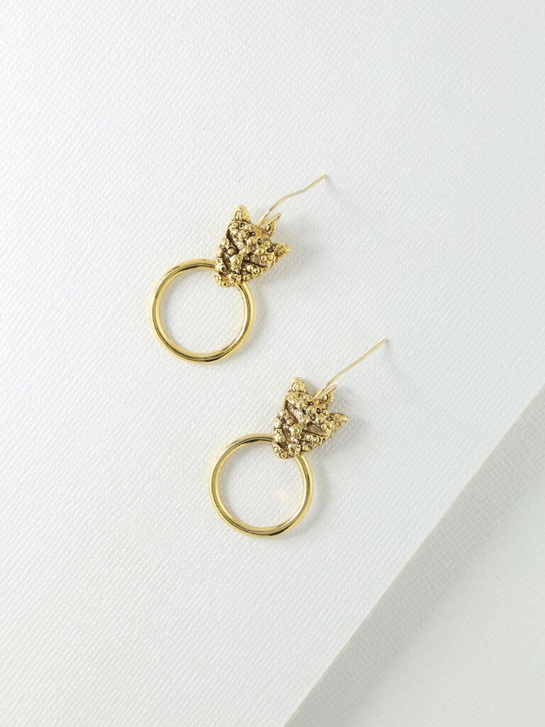 The Panther Earrings