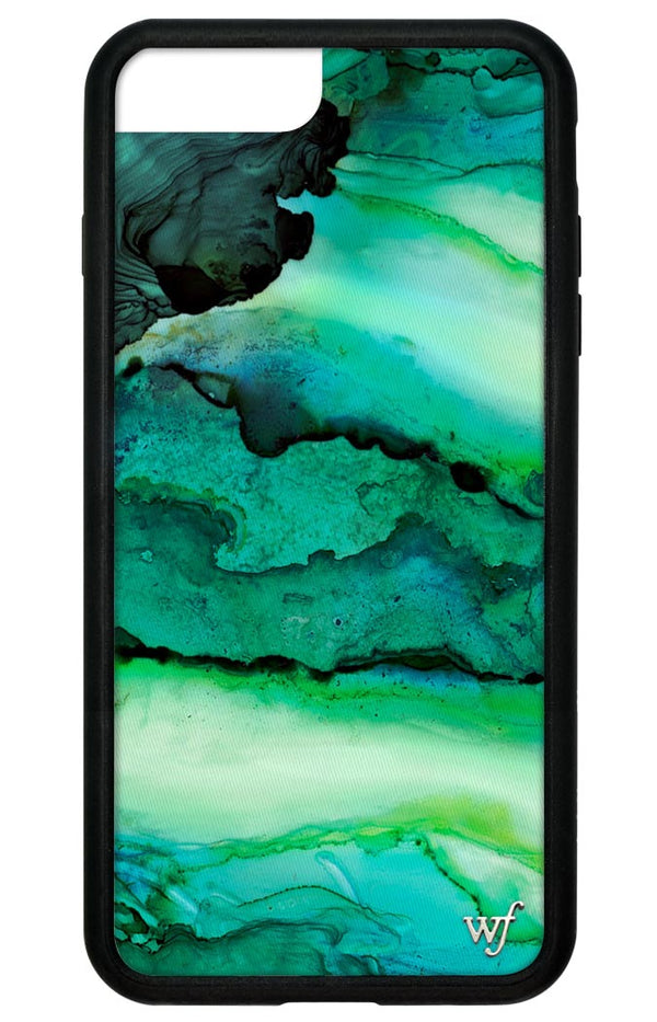 Emerald Stone Iphone Case Wildflower
