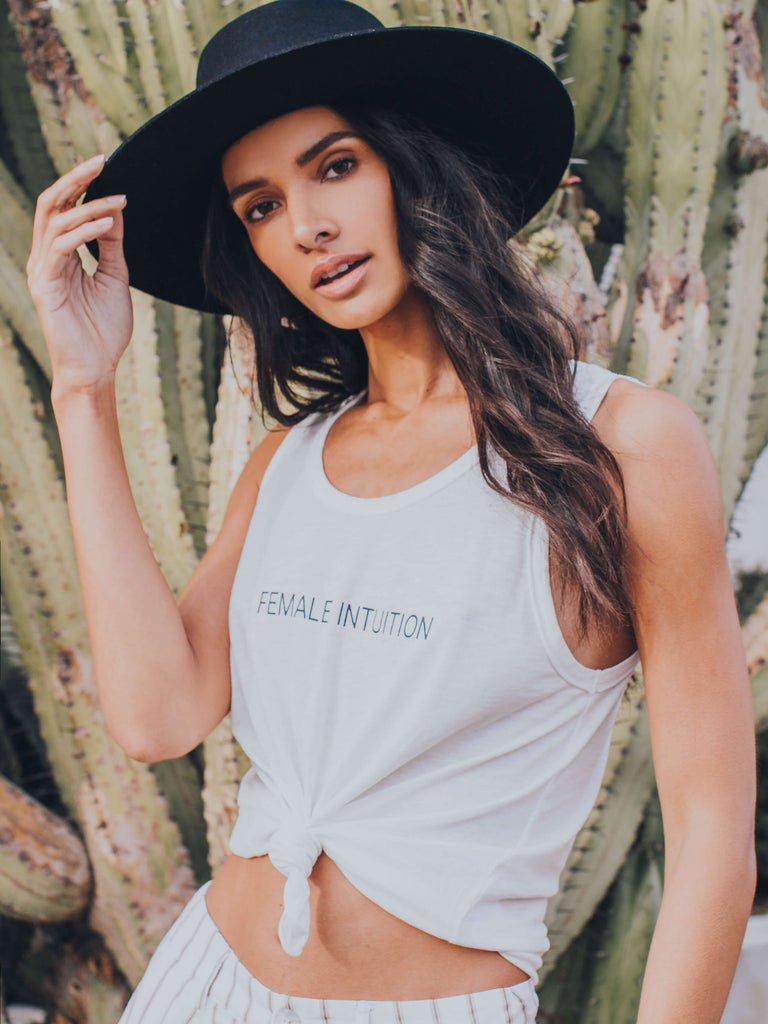 Female Intuition Desi Tank Mate The Label