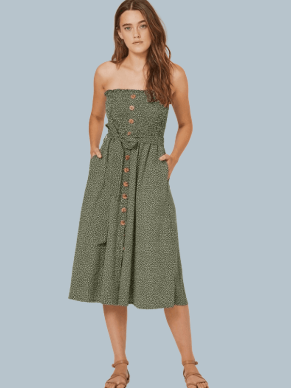 Pearl Jasper Midi Dress Auguste the Label