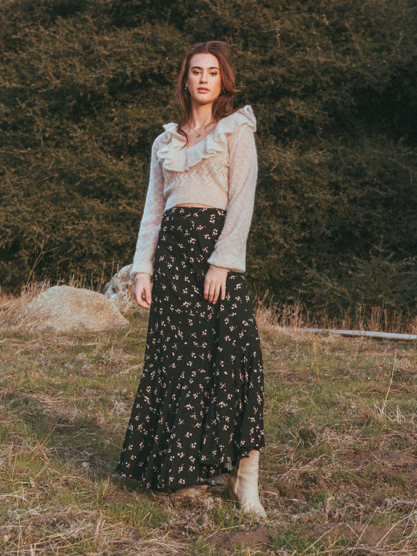 Ruby's Forever Maxi Skirt Free people