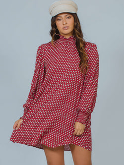 Geo Smock Mini Dress MINKPINK