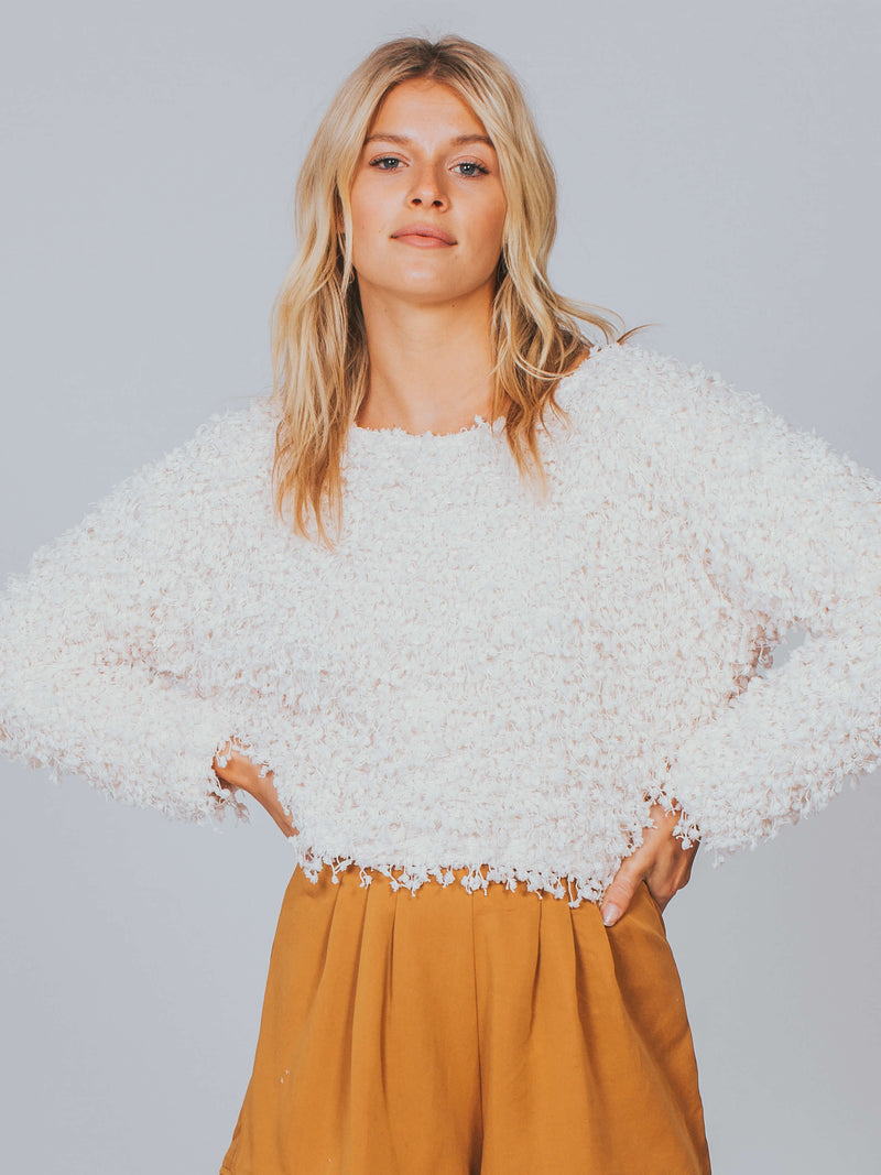 Glorious Cropped Top Somedays Lovin Ivory