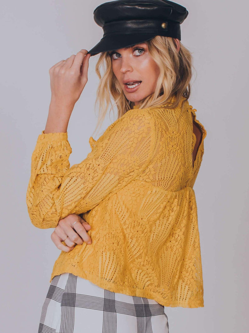 Golden Days Blouse Top Somedays Lovin