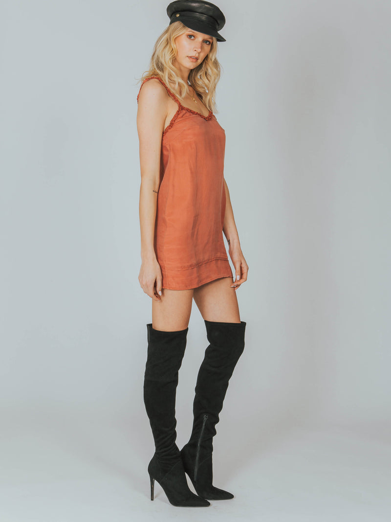 Honey Slip Mini Dress Auguste The Label