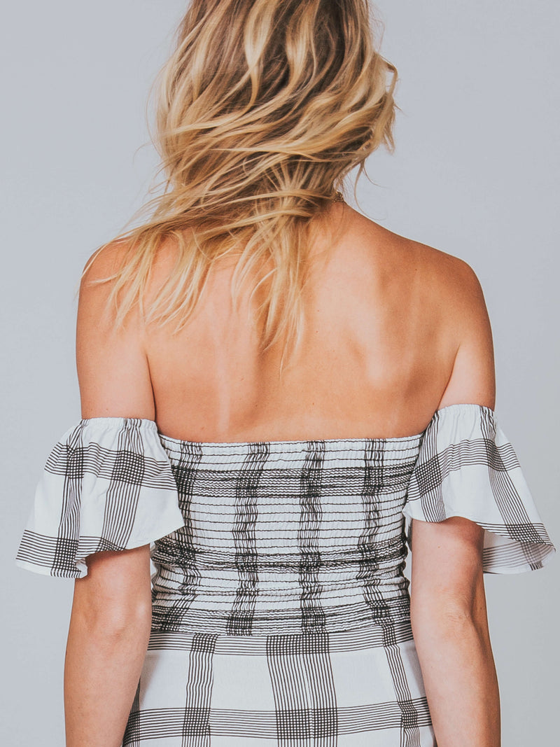 Iris Crop Flynn Skye Cute in Checks