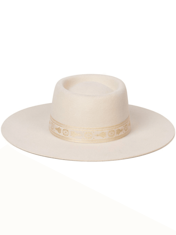 Juno Boater Hat Cream