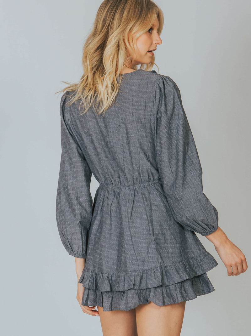 Kate Chambray Dress Cleobella