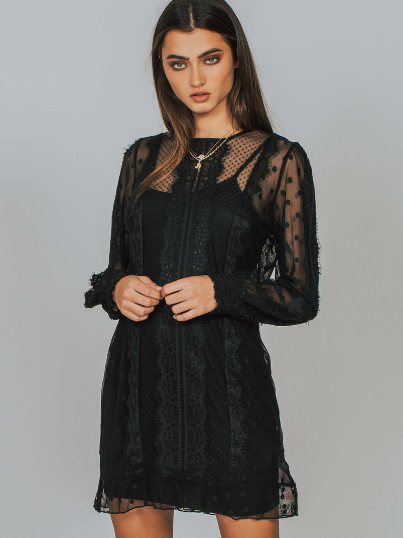 Layla Lace Dress MINKPINK