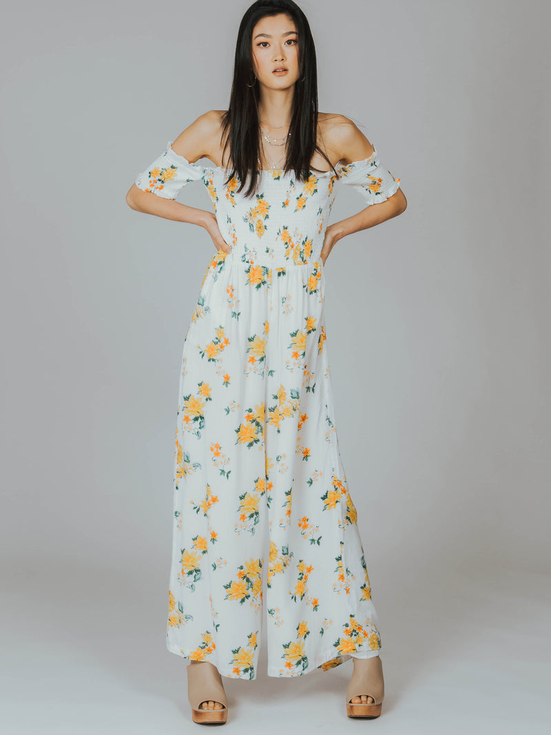 Lemon Bloom Jumpsuit MINKPINK
