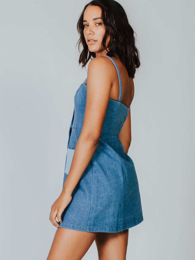 Marley Denim Dress Capulet