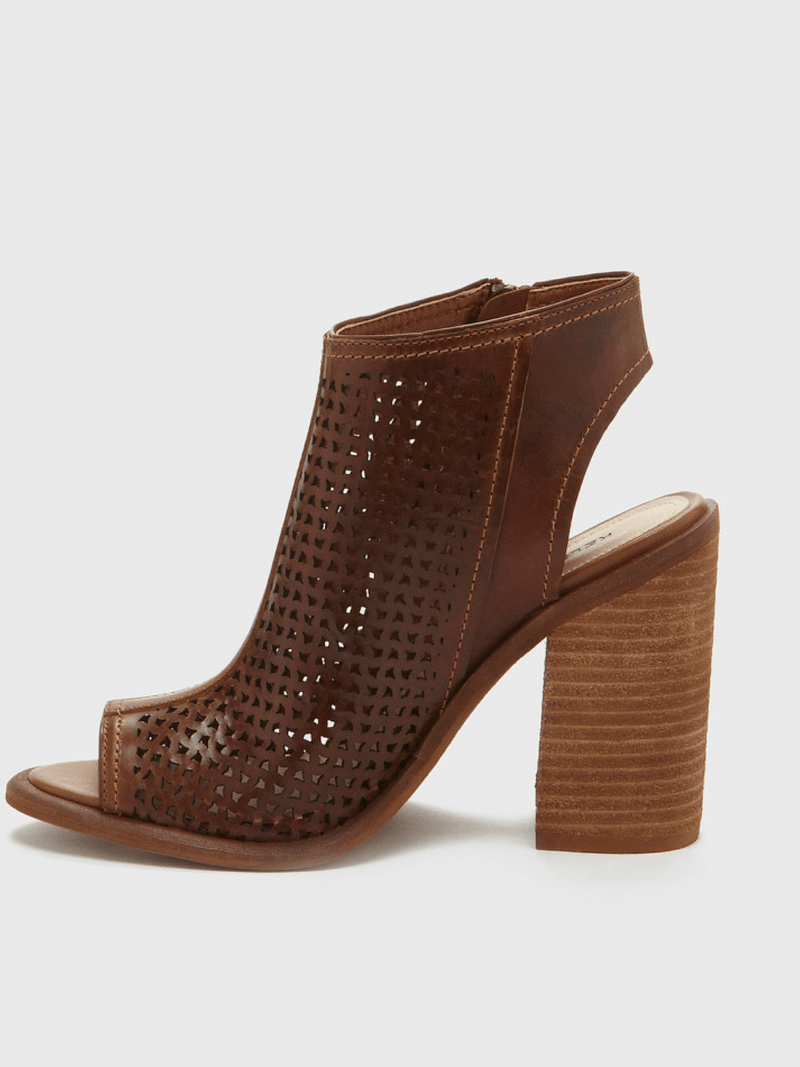 Mason Open Toe Bootie Kelsi Dagger Brooklyn Tan