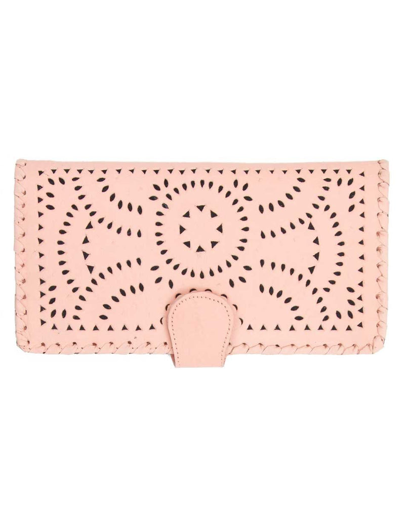 Mexicana Painted Wallet - Blush