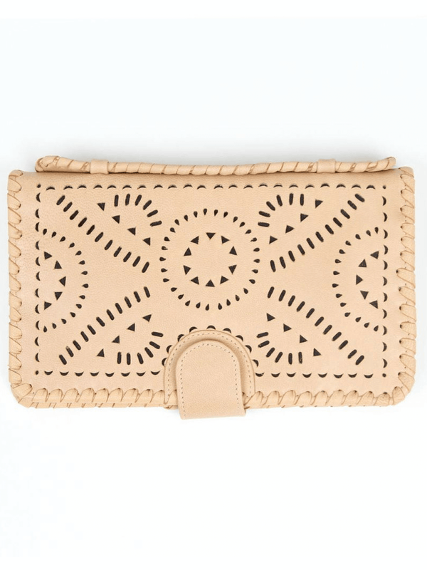 Mexicana Painted Clutch Cleobella