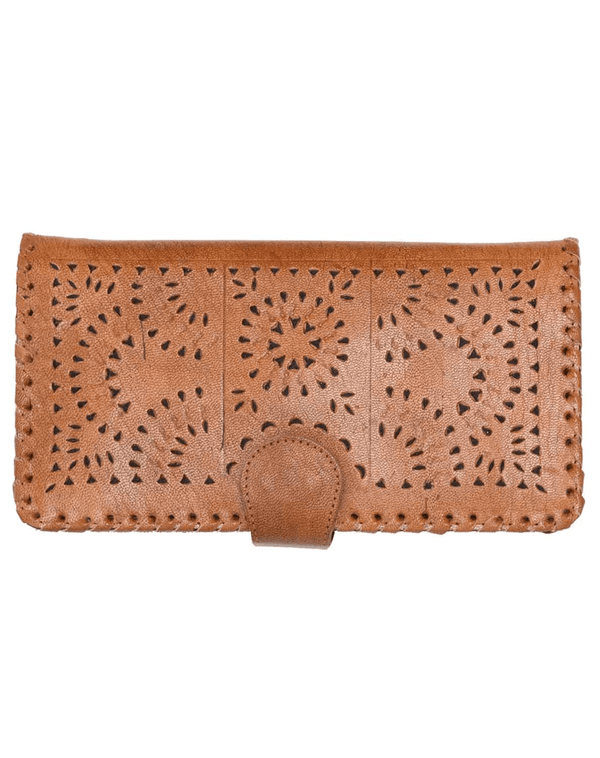 MEXICANA PAINTED WALLET - TAN