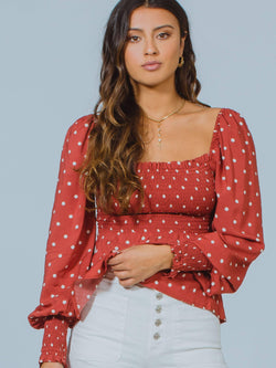 Polly Sunday Blouse Auguste the Label