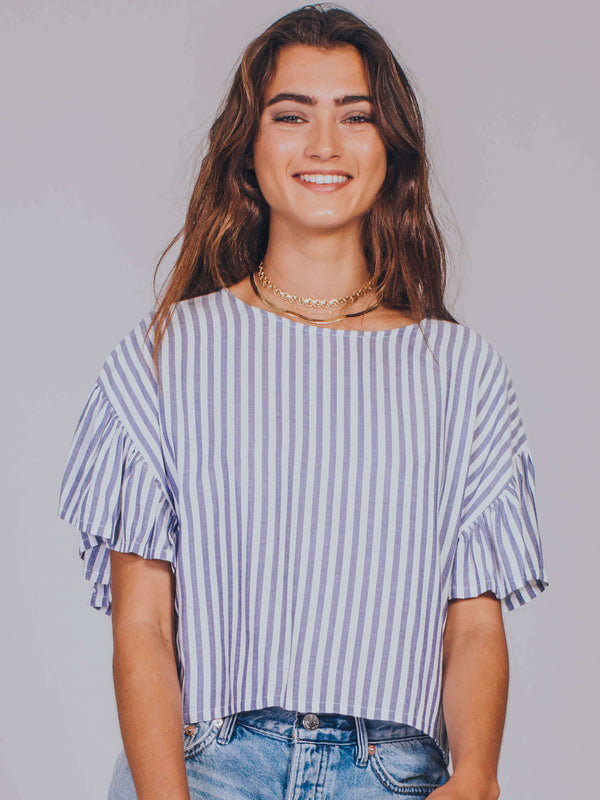Road Trip Stripe Top MINKPINK