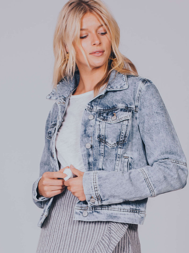 Rumors Denim Jacket Free People