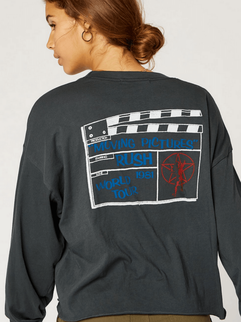 Rush Moving Pictures Long Sleeve Tee Daydreamer LA