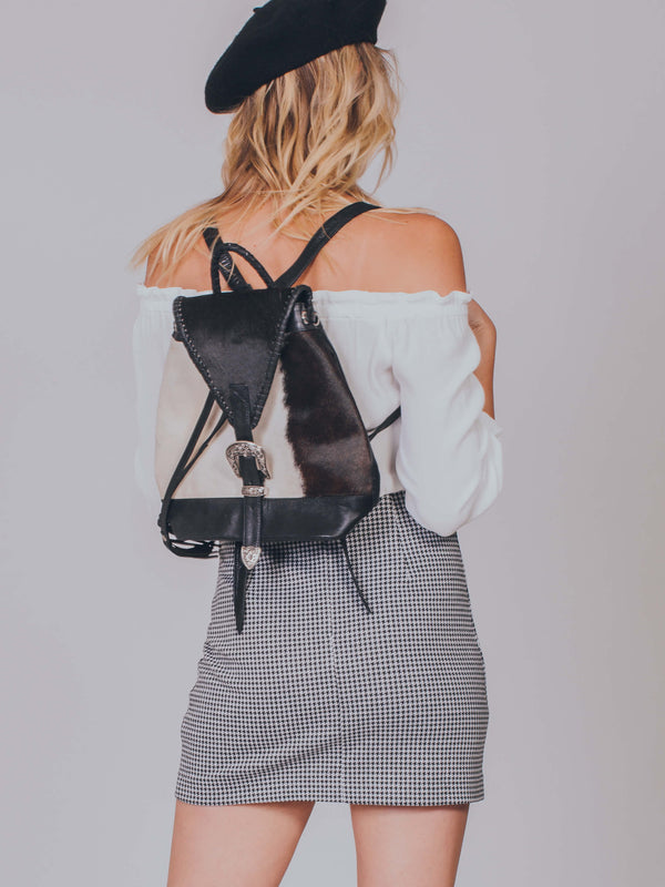 Jitana Cowhide Backpack