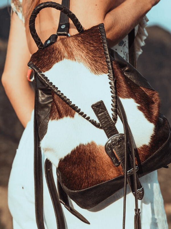 Jitana Cowhide Backpack Saudara The Label