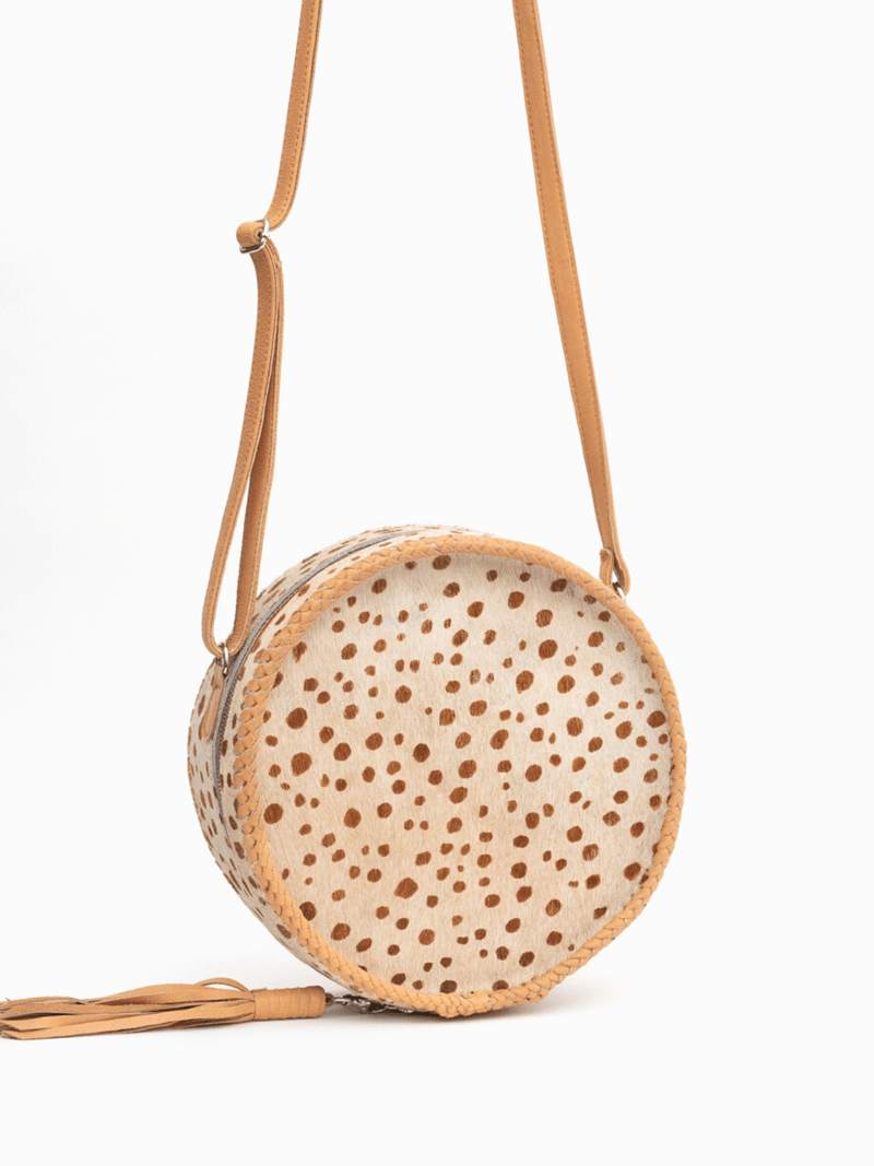 Circle Cowhide Bag
