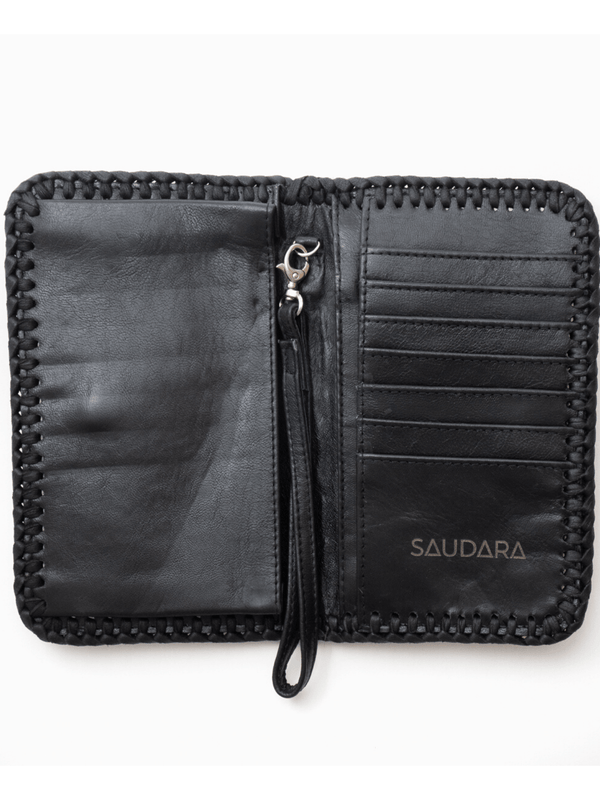 Cowhide Phone Wallet Saudara The Label