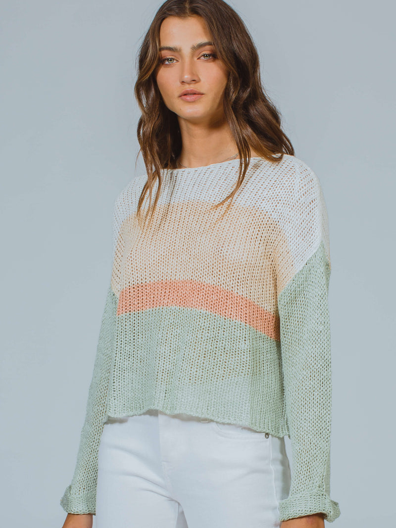 Uprise Stripe Knit MINKPINK