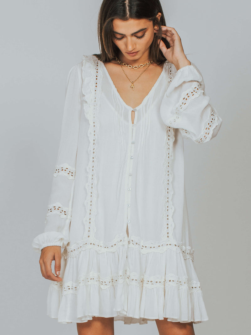 Snow Angel Mini Dress Free People