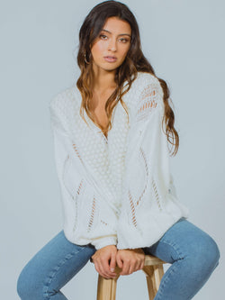 Snowball Free People Sweater