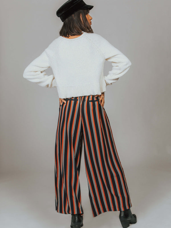 Stripe Cropped Trouser MINKPINK