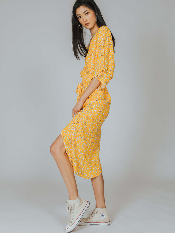 Summer Daisy Midi Dress MINKPINK