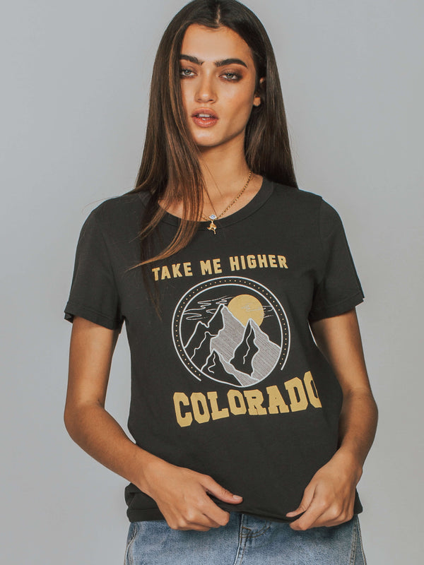 Alex Crew Take Me Higher Colorado Tee Mate The Label
