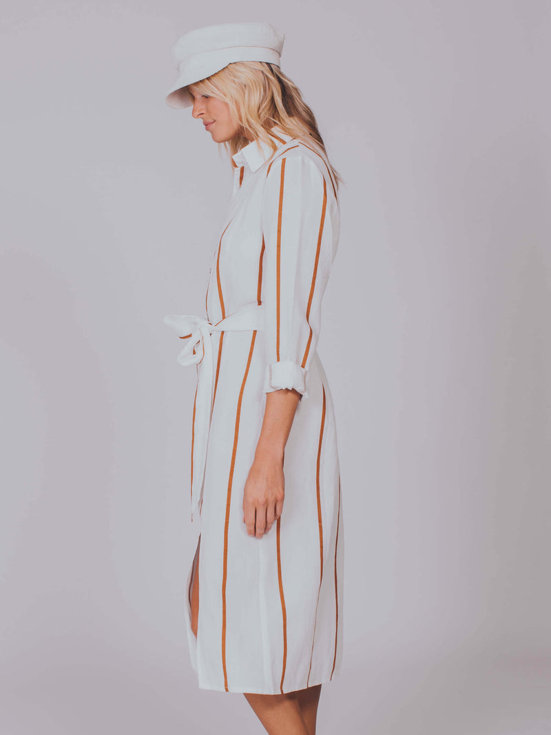 The Stevie Dress Sancia White