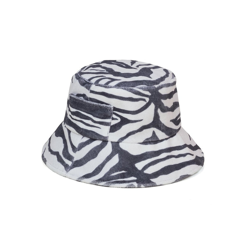 Wave Bucket Hat Zebra Lack of Color